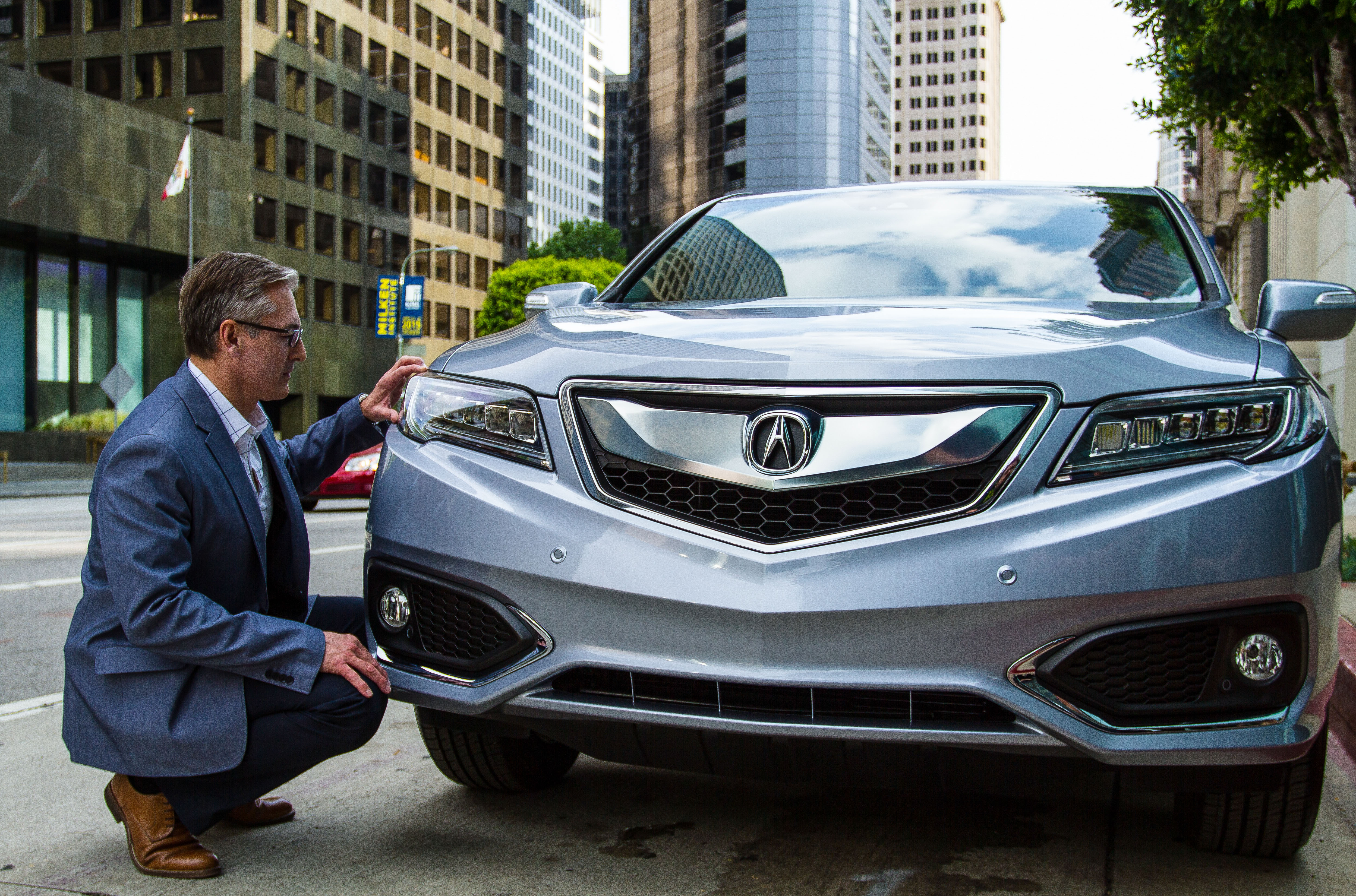 angeles acura top rdx los debut speed cars